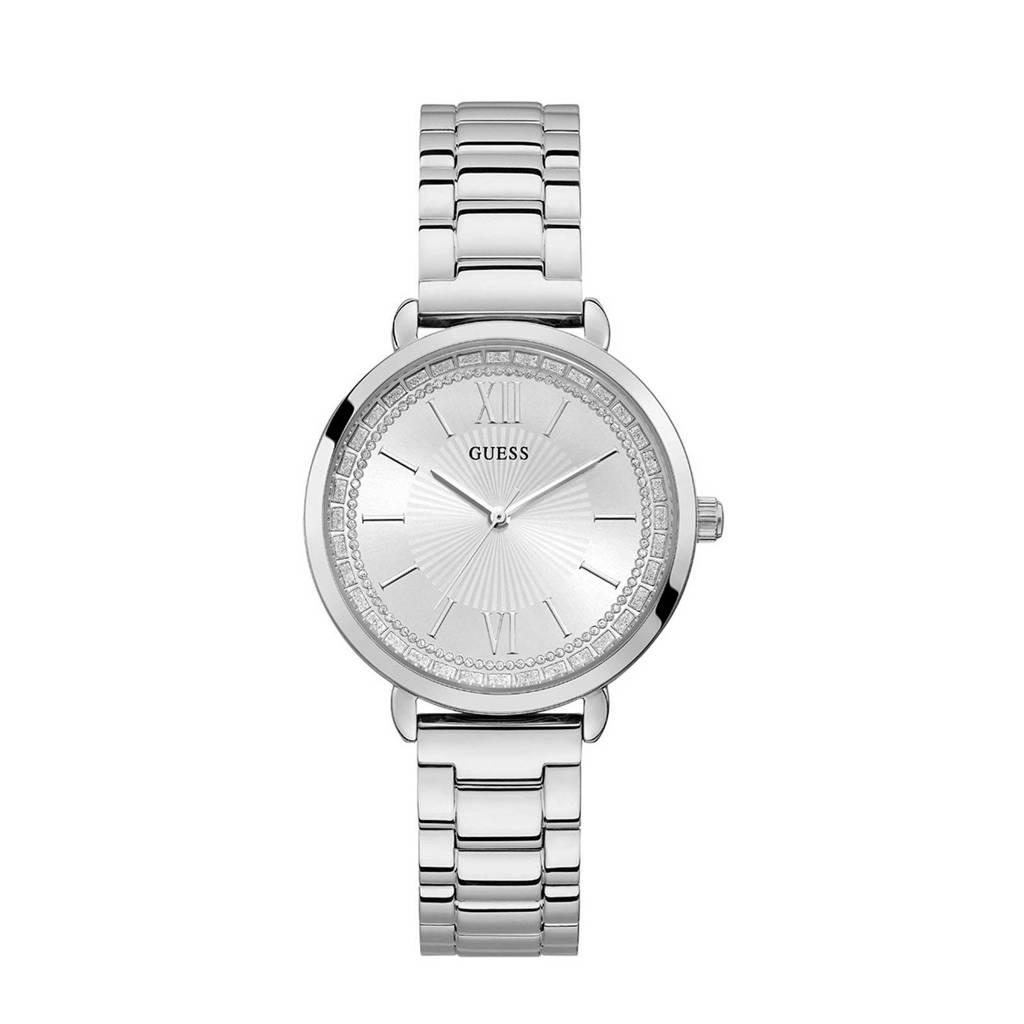 GUESS horloge W1231L1 zilver, Zilverkleurig