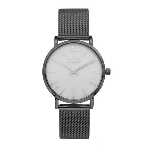 IKKI-Horloges-Watch Morris Gunmetal-Wit