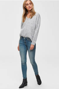 SELECTED FEMME skinny jeans, Blauw