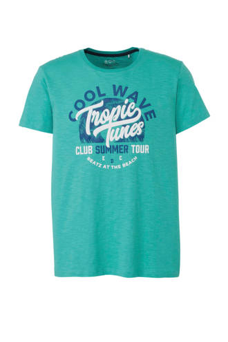 edc Men Artwork T-shirt turquoise