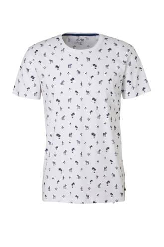 edc Men T-shirt met all over print