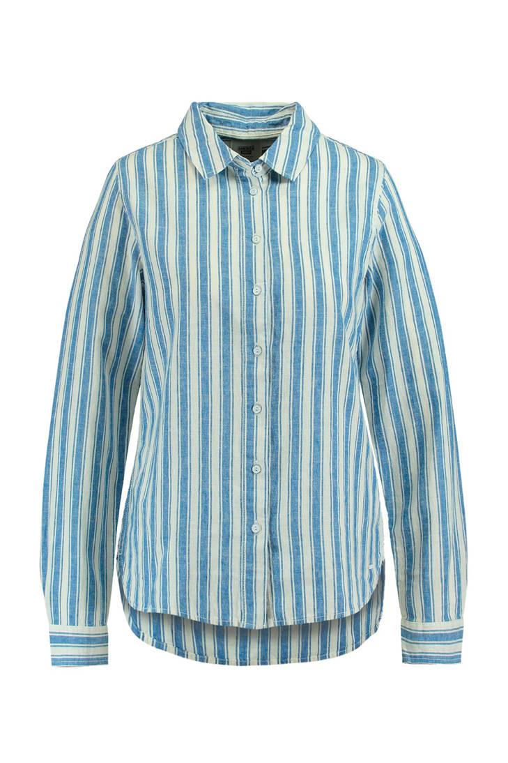 blauw blouse America strepen met Today HXYYqO