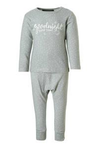 Your Wishes   baby pyjama grijs, Grijs
