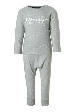 baby pyjama grijs