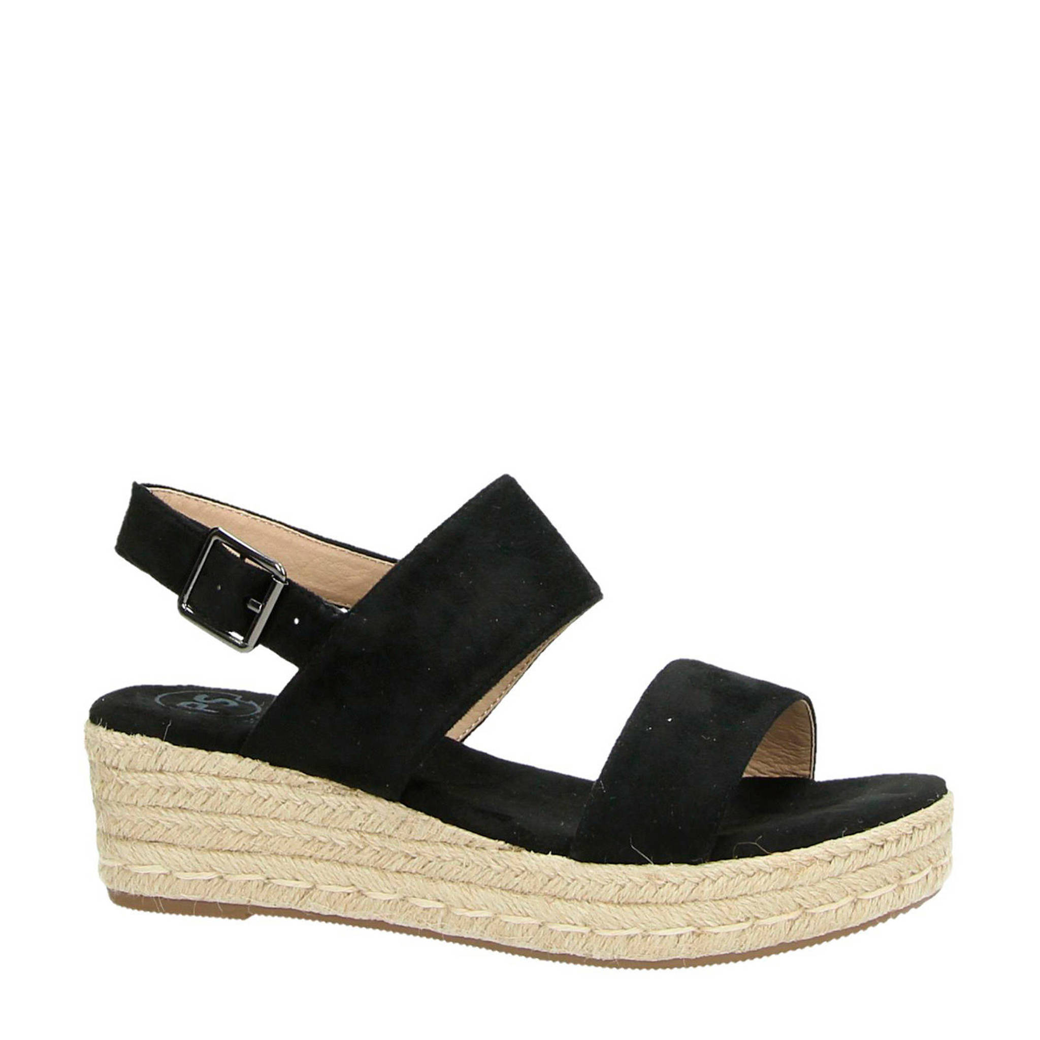 Entdecken Sie die neuesten Trends begrenzter Preis wo zu kaufen plateau sandalen zwart