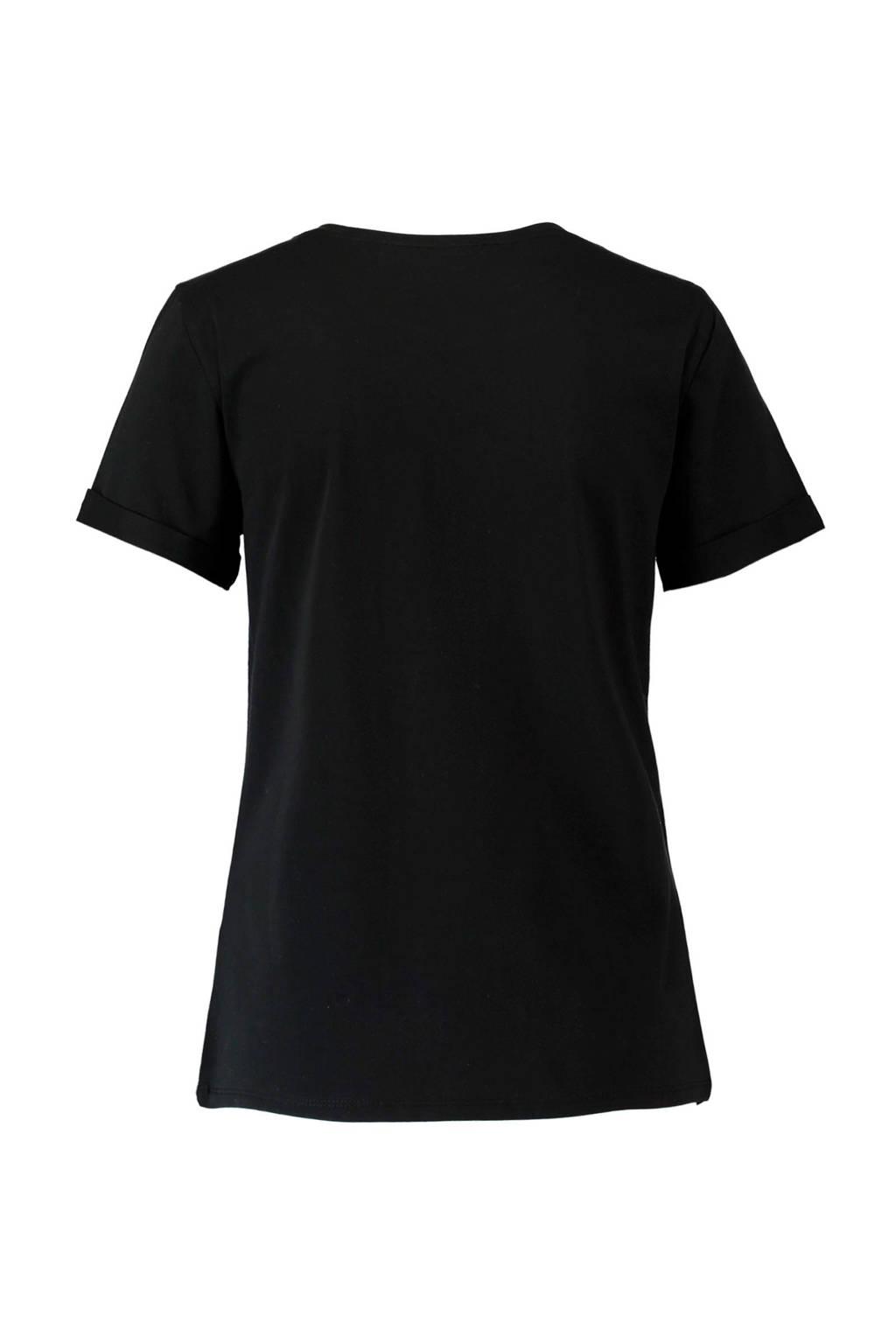 Coolcatt Met Tekstopdruk Tekstopdruk Met Glitter Glitter shirt Coolcatt shirt vCAWEwq