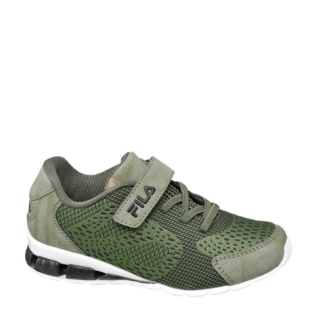 Fila   sneakers kaki/wit, Kaki
