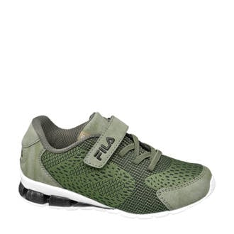 sneakers kaki/wit