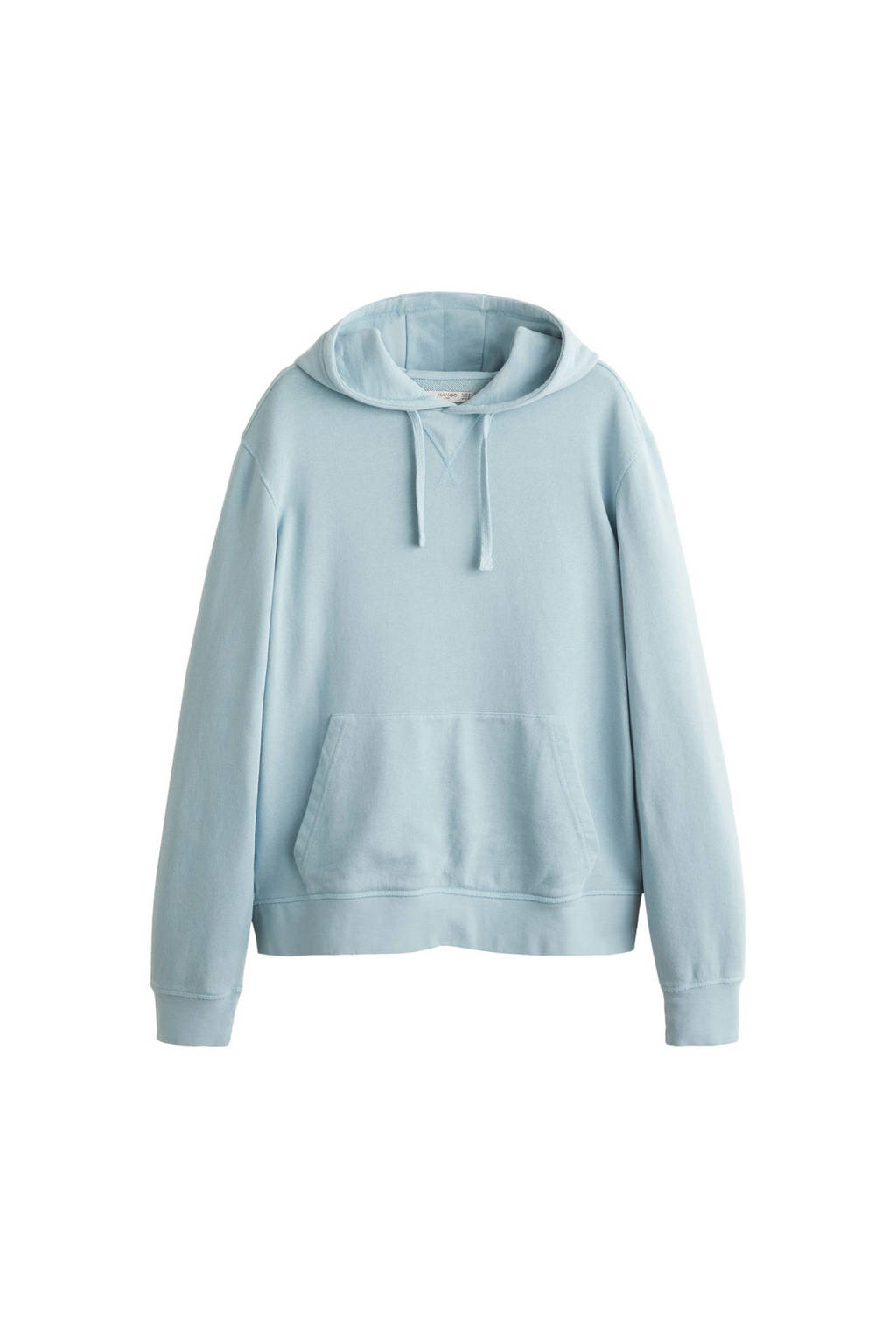 Mango Man hoodie, pastelblauw