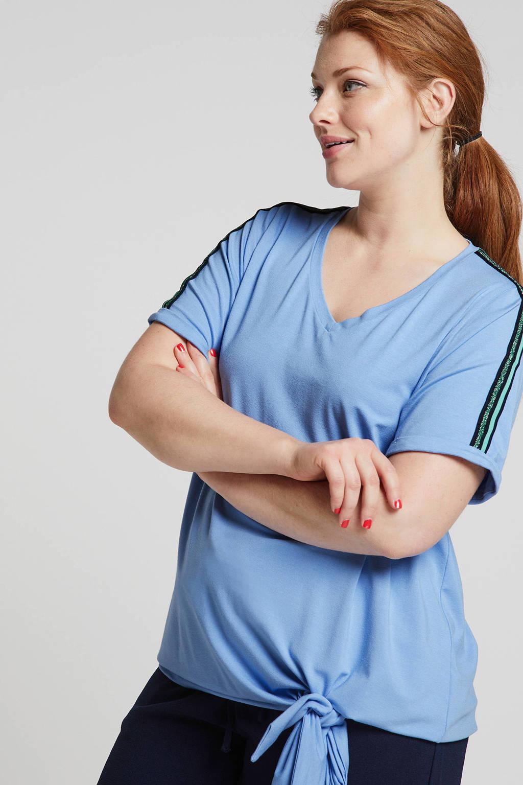 IVY BELLA T-shirt blauw, Blauw