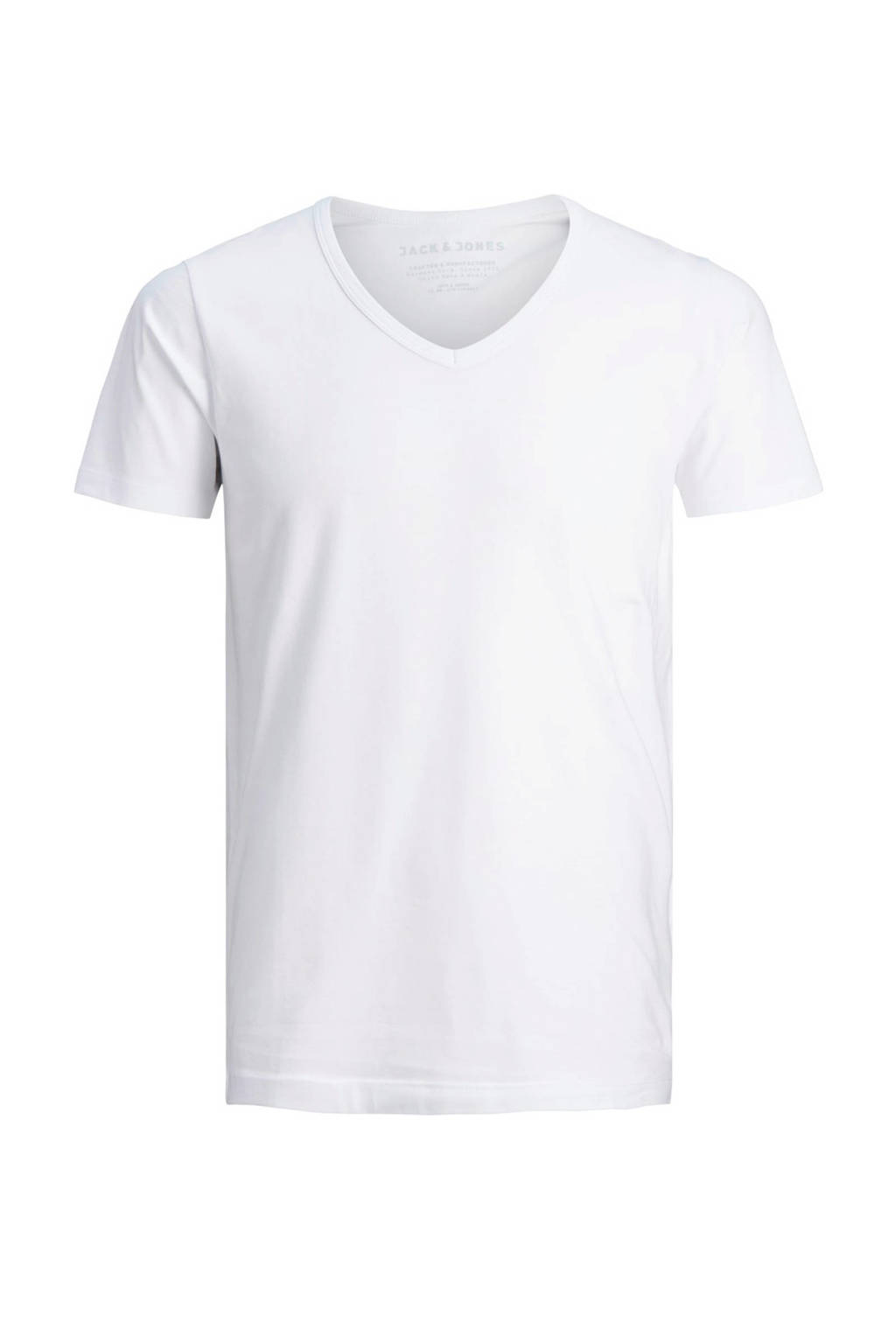 Jack & Jones T-shirt wit, Wit