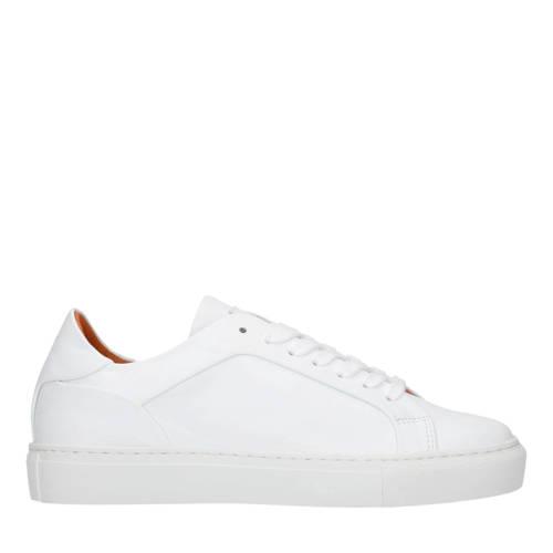 Sacha leren sneakers wit