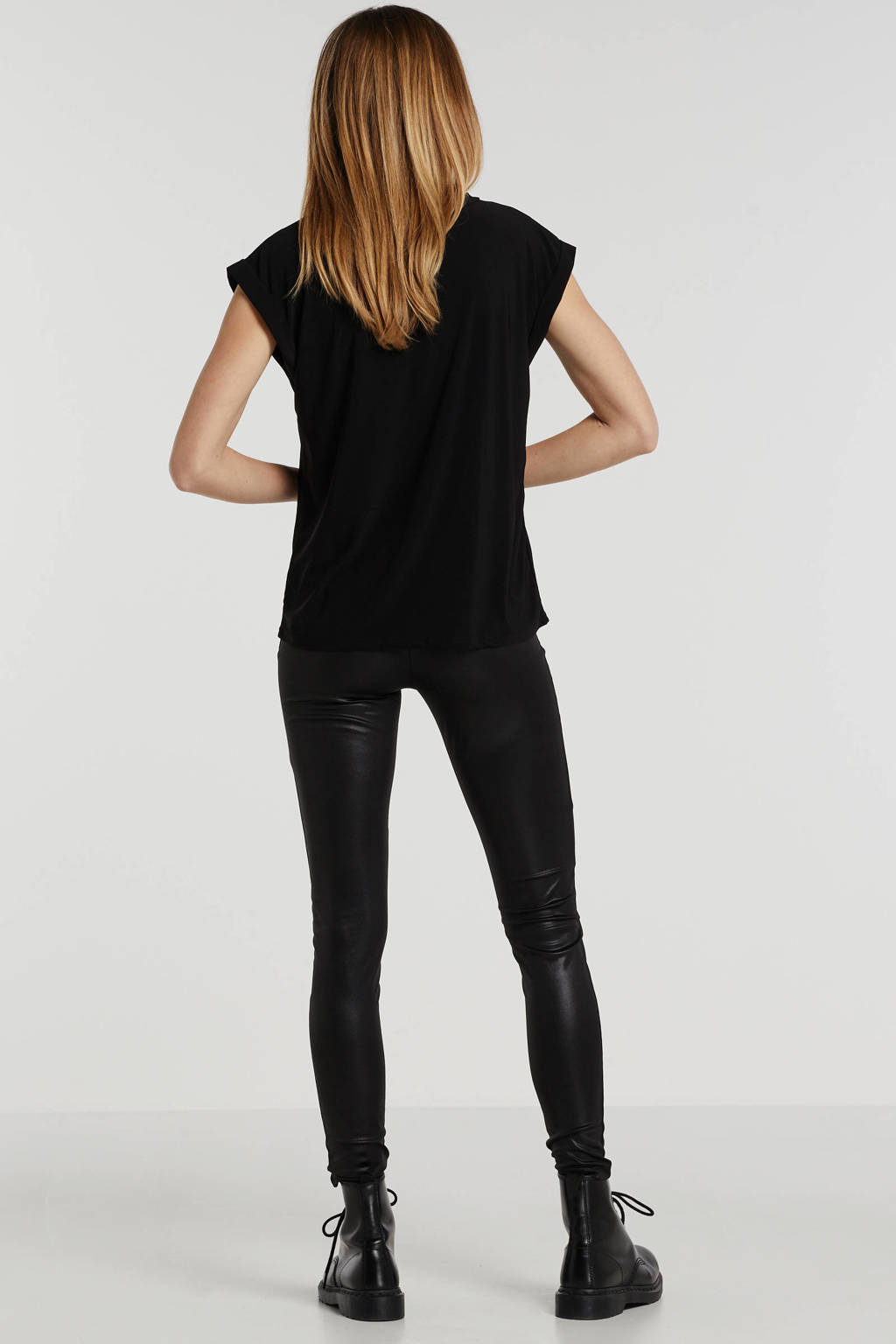 SisterS Point T-shirt zwart, Zwart