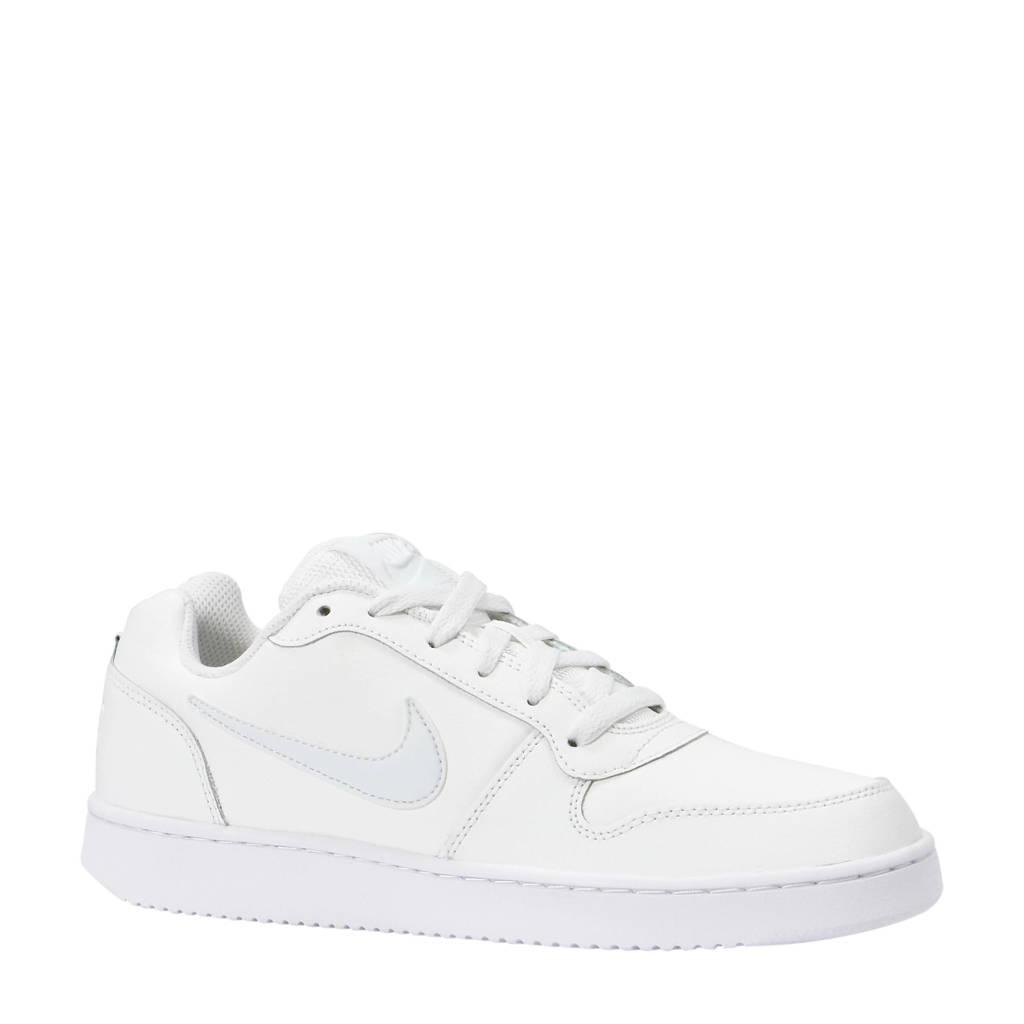 Nike  Ebernon Low leren sneakers, Wit
