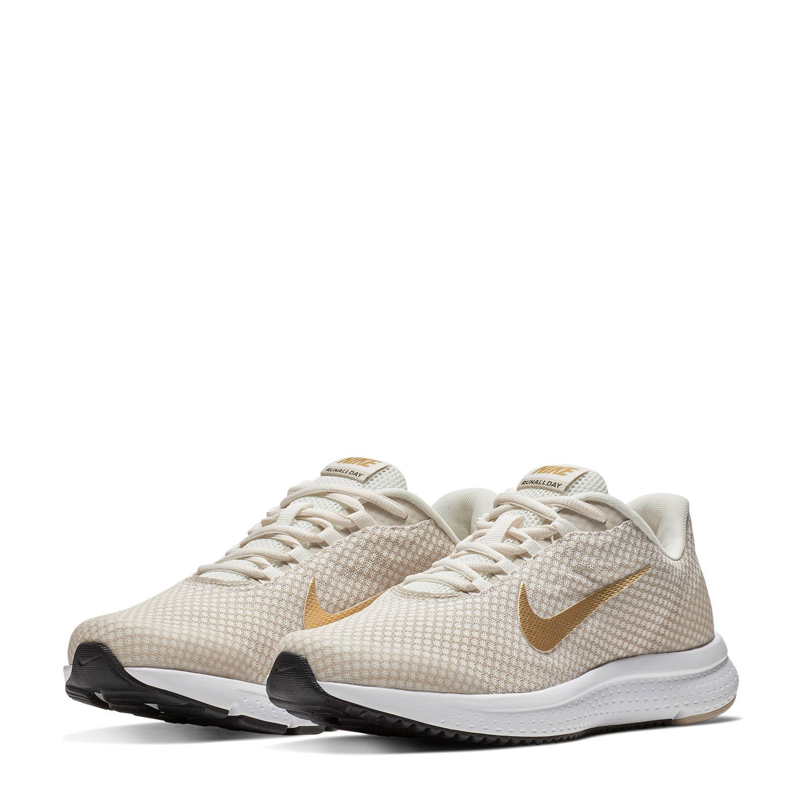 Runallday sneakers beige/goud
