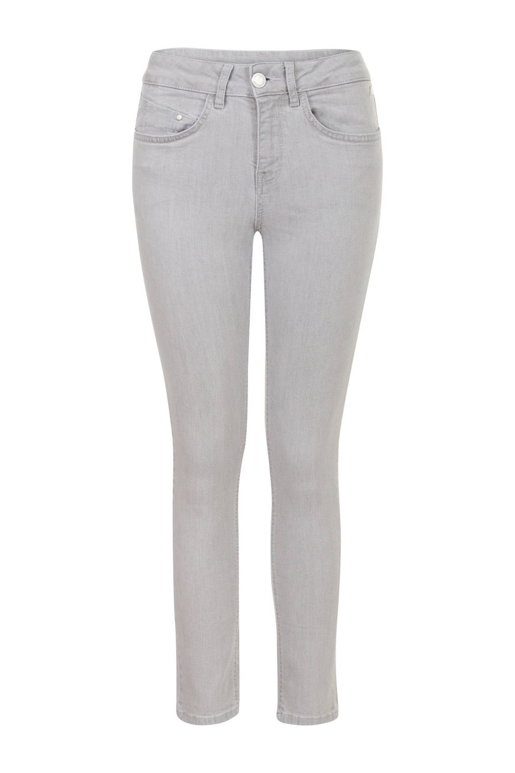 Miss Etam Regulier slim fit jeans grijs, Grijs