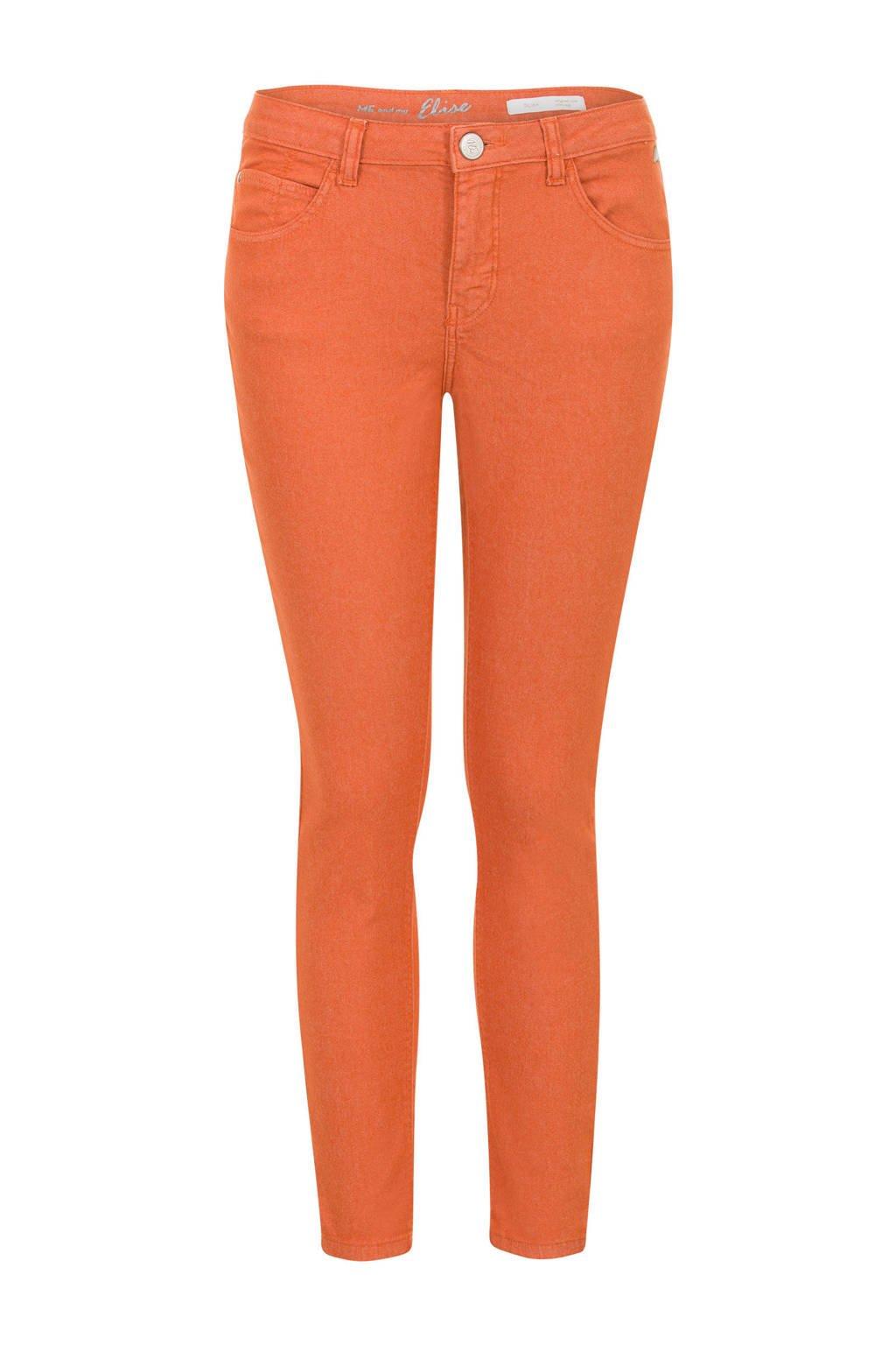Miss Etam Regulier 5-pocket jeans oranje, Oranje