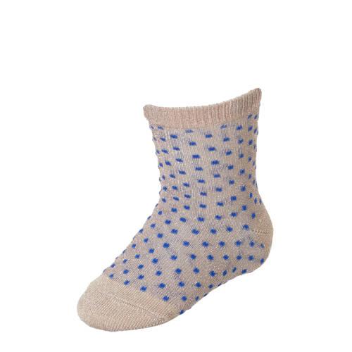 mp Denmark sokken met lurex roze