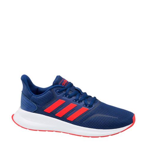adidas Run Falcon sneakers blauw-rood