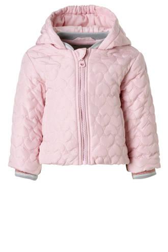 Baby Club zomerjas met hartjes roze