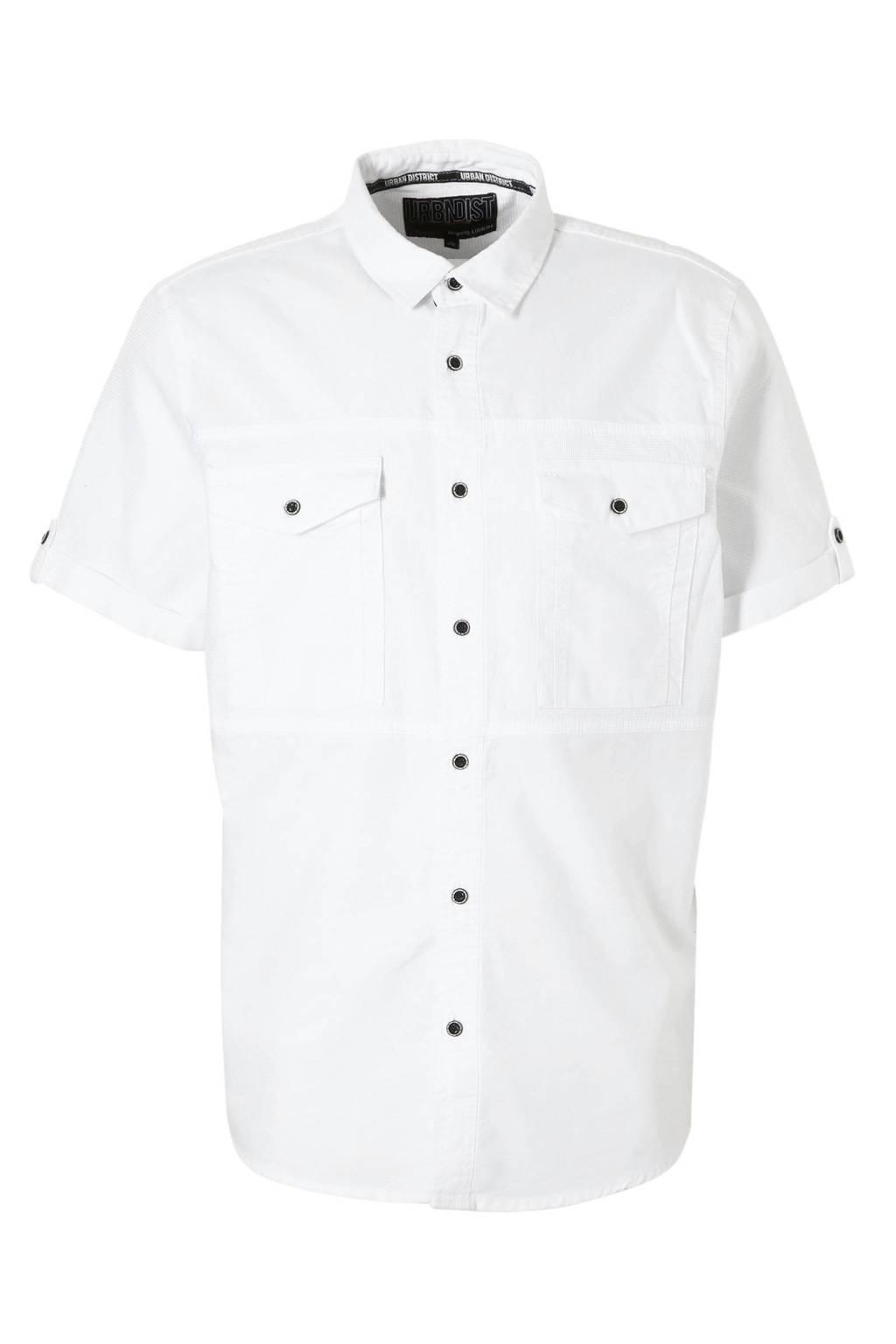 Overhemd Wit Korte Mouw.C A Angelo Litrico Overhemd Korte Mouw Wehkamp