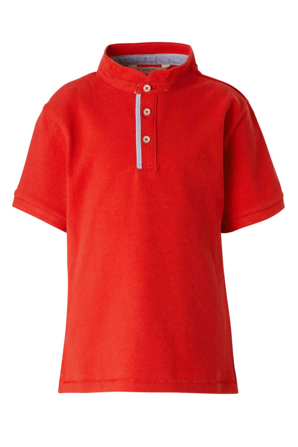 Mango Kids polo rood, Rood