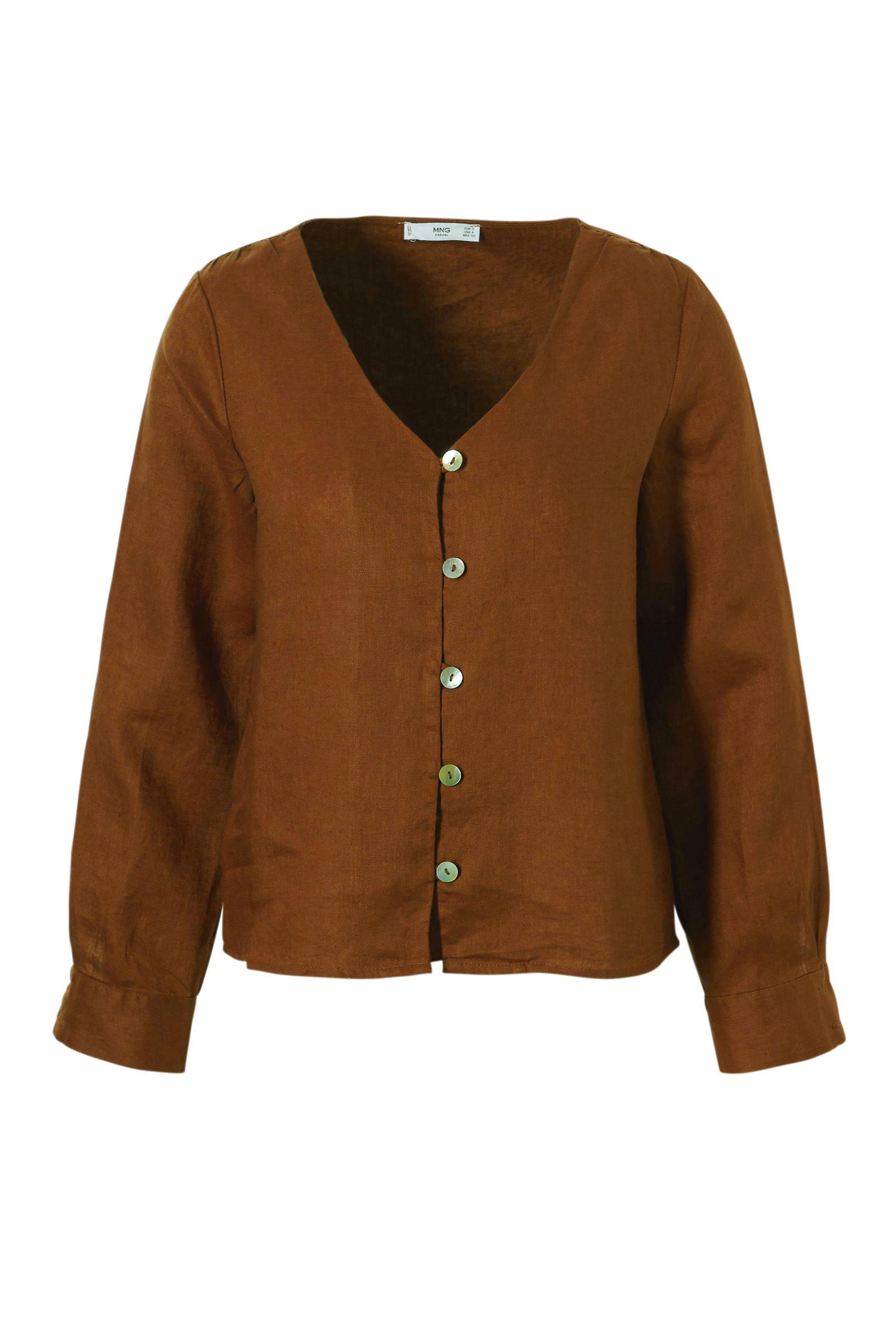 blouse blouse Mango Mango blouse koper Mango koper Mango koper koper blouse x1gwZcRSPq
