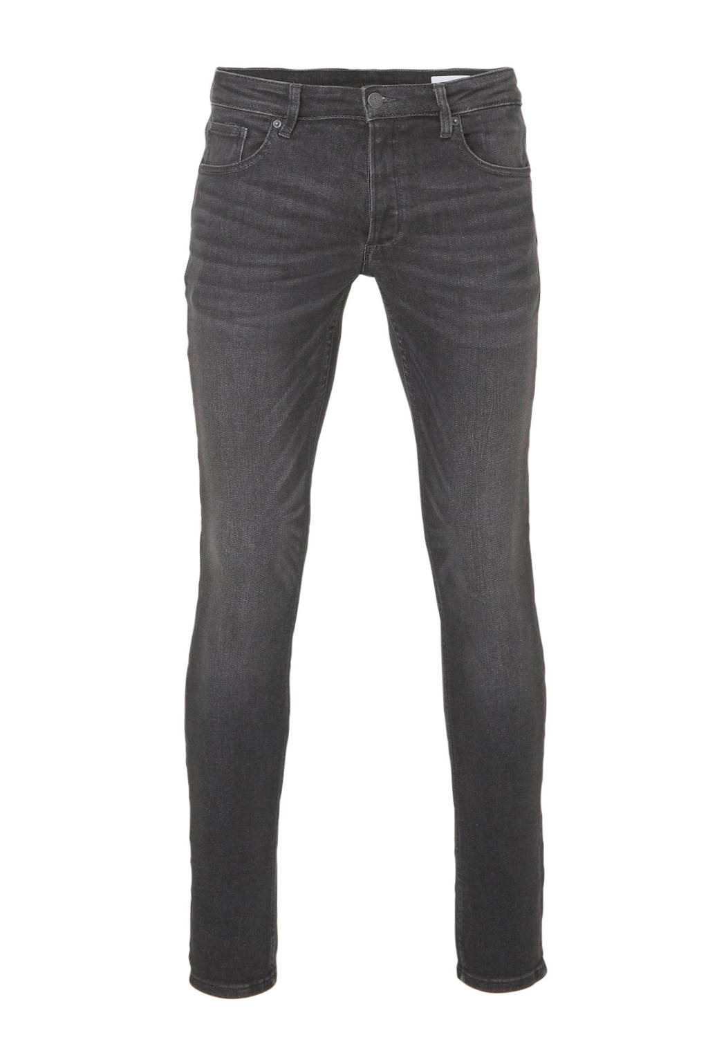 WE Fashion Blue Ridge slim fit jeans, Black denim