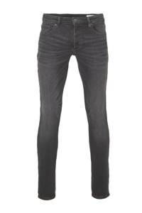 WE Fashion Blue Ridge slim fit jog denim jeans, Black denim
