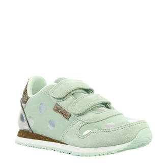 Nora Dot Junior sneakers mintgroen
