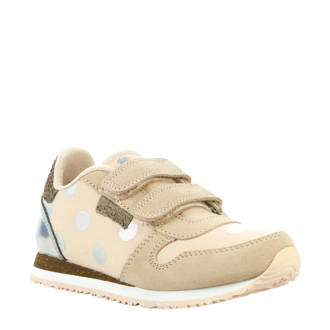 Nora Dot Junior sneakers beige/roze