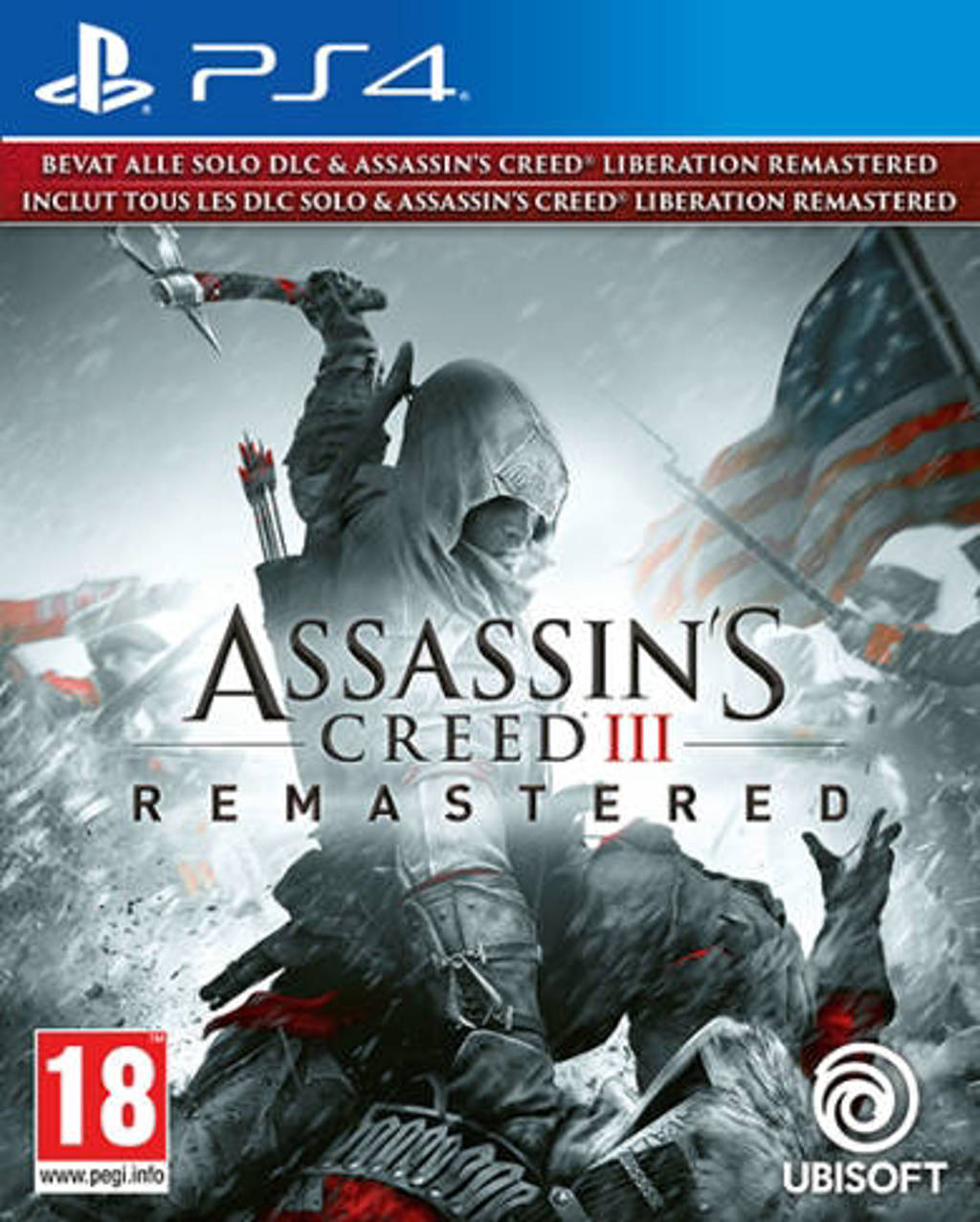 Assassins creed 3 & Liberation remastered (PlayStation 4)