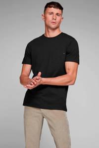 JACK & JONES ESSENTIALS T-shirt Jjepocket zwart, Zwart