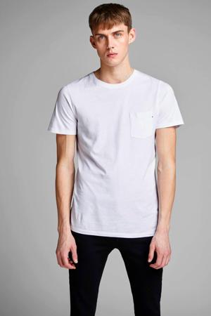 T-shirt Jjepocket wit