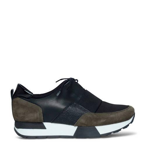 Sacha sneakers zwart/groen