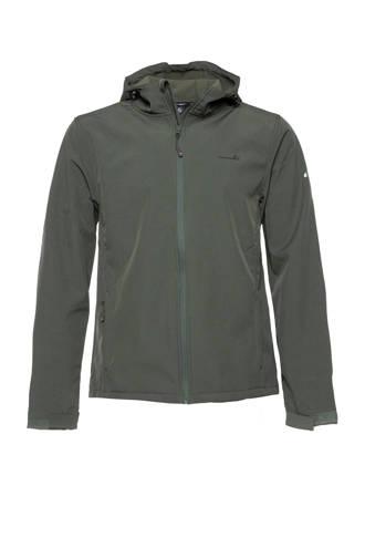 Mountain Peak softshell jas groen