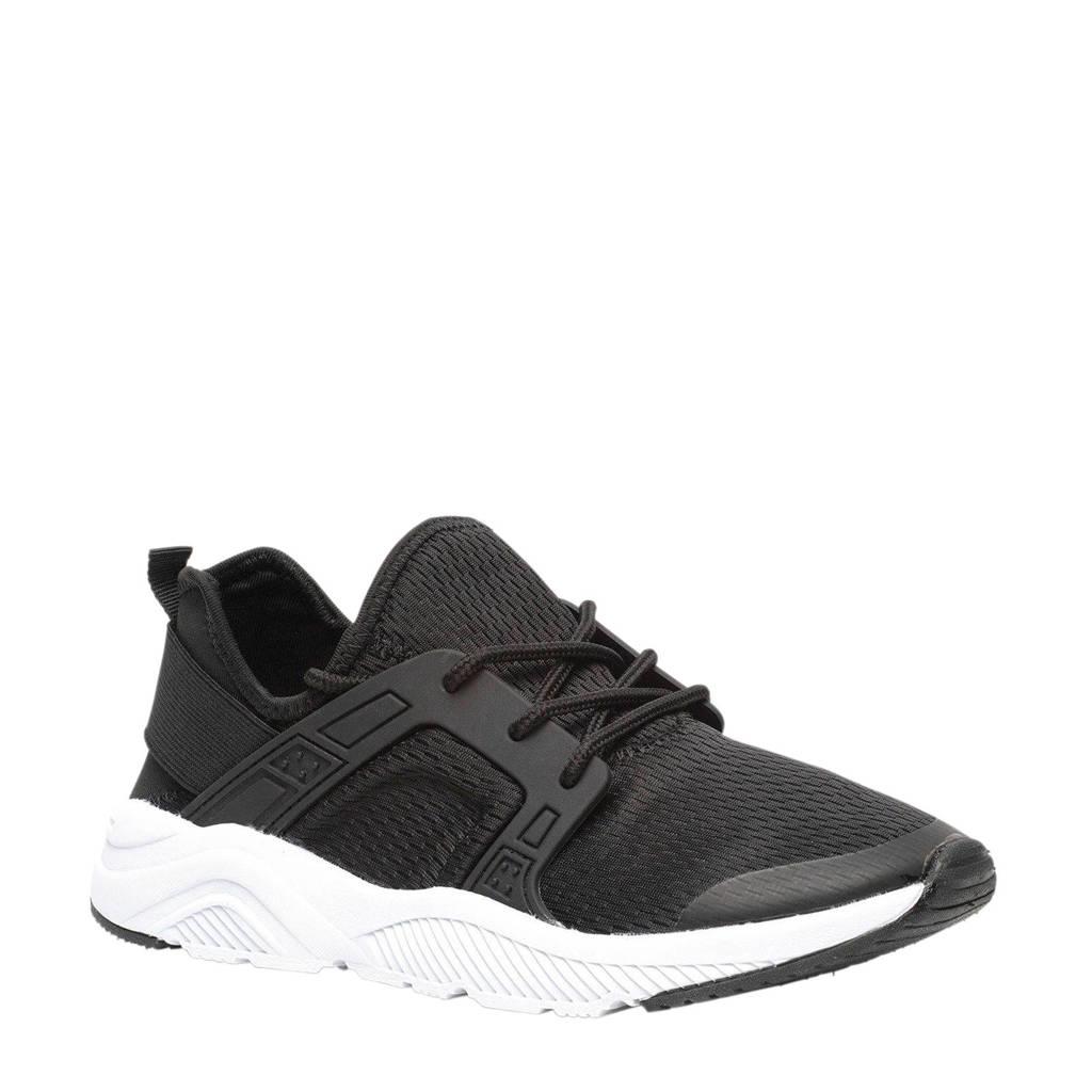 Scapino Osaga  sneakers zwart, Zwart/wit