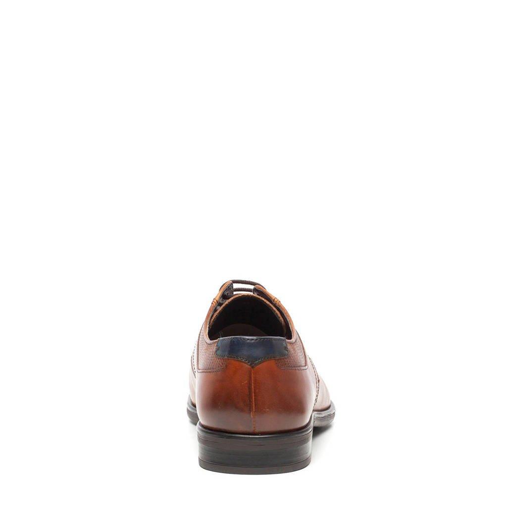 Van Leren Scapino Beers Cognac Veterschoenen B1xdnx4
