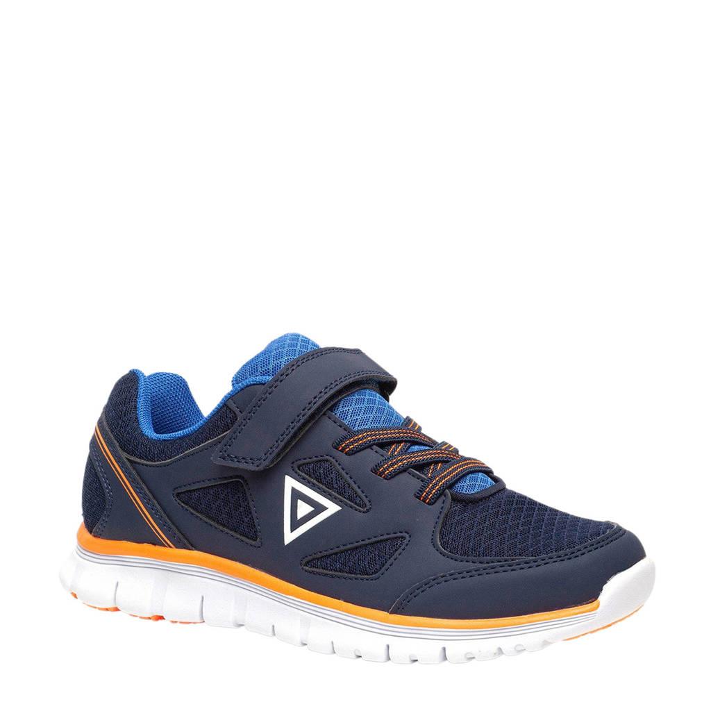 Scapino Osaga   hardloopschoenen blauw kids, Blauw/oranje