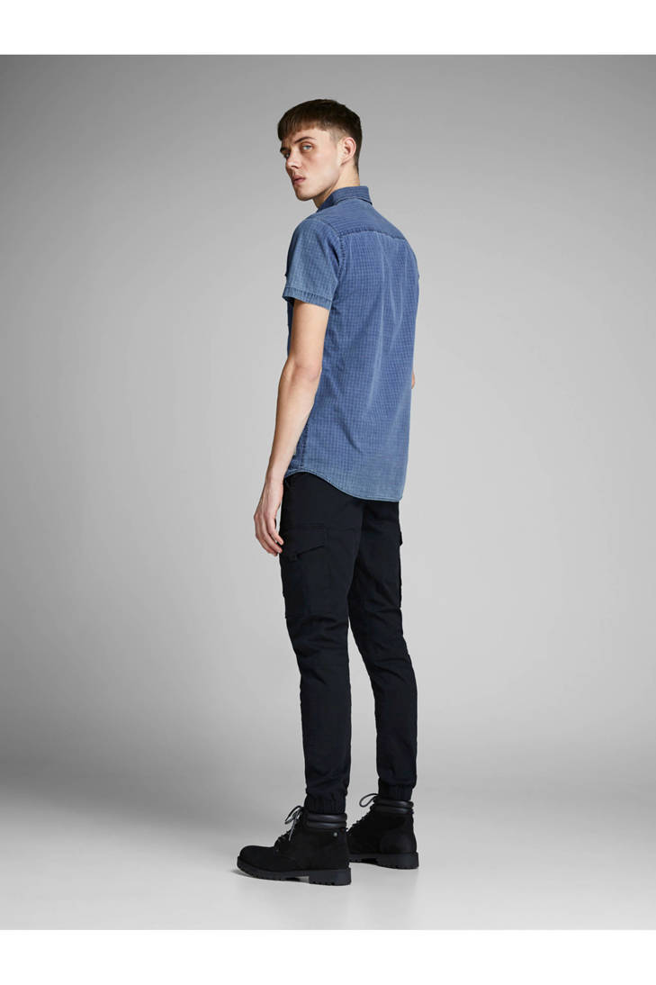 Jack Jones fit geruit overhemd Core slim n6U8w