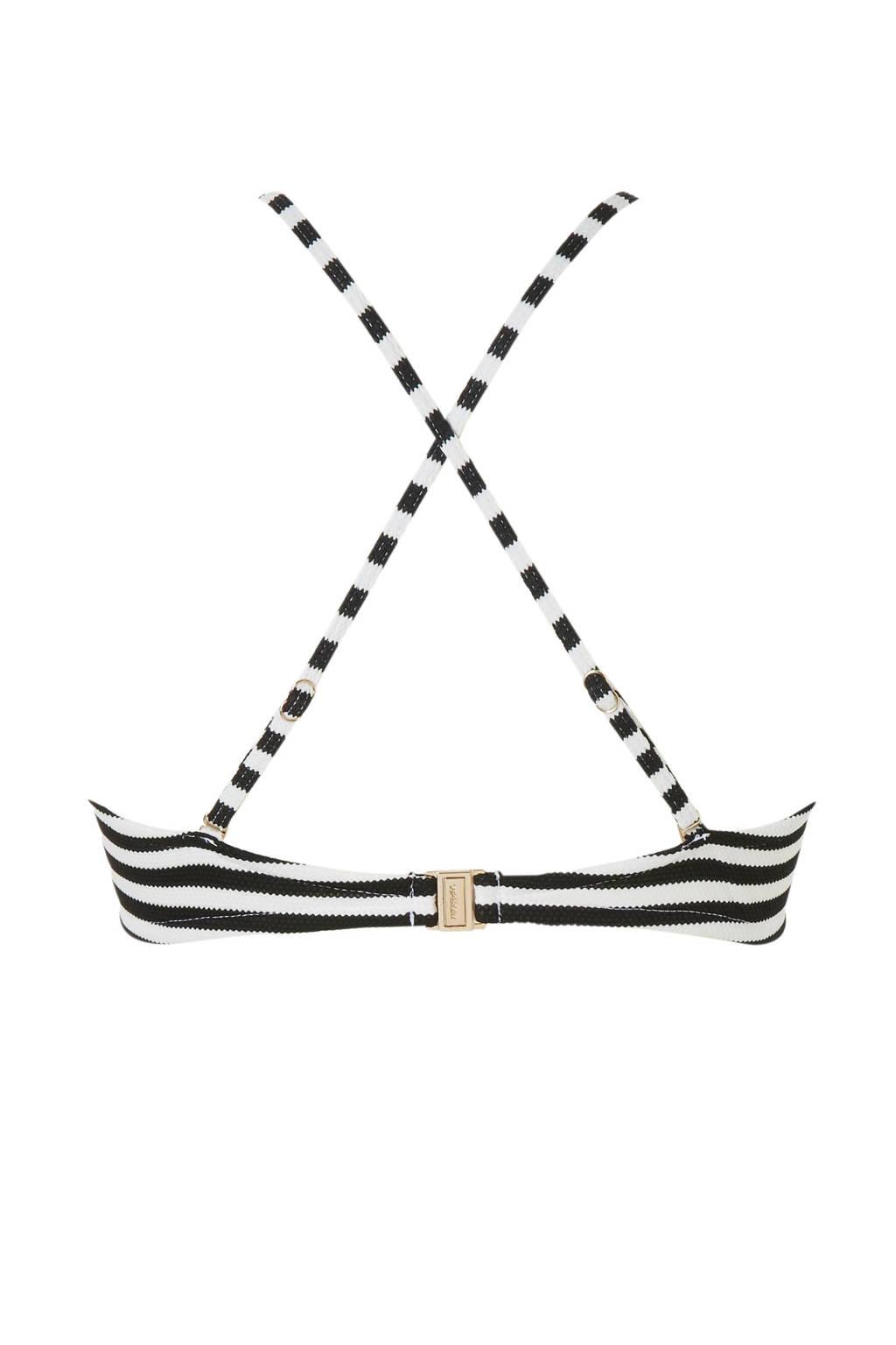 Superdrygestreept Bikinitopje Beugel Zwart Met Textuur xTw6rxU5