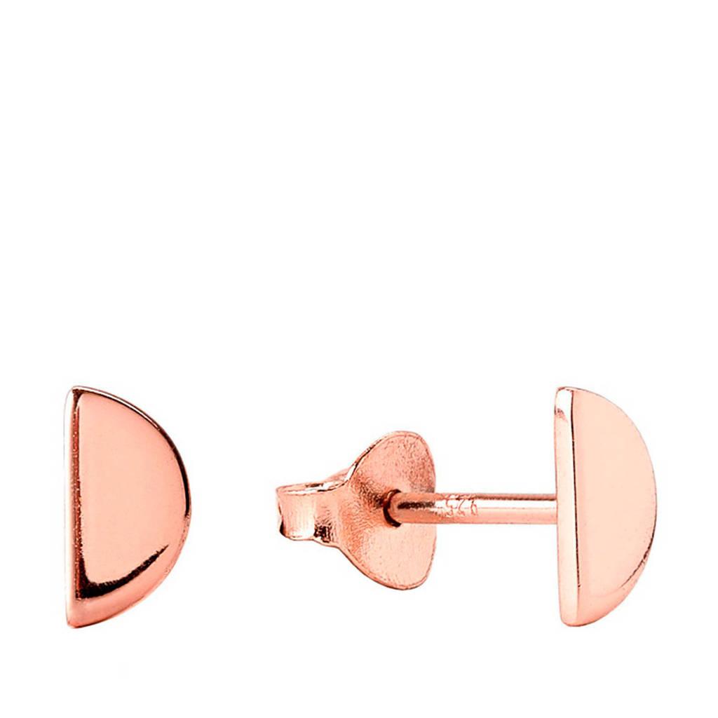 Violet Hamden oorbellen, Roségoudkleurig