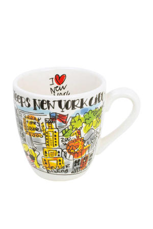 City mini mok New York (Ø8 cm)