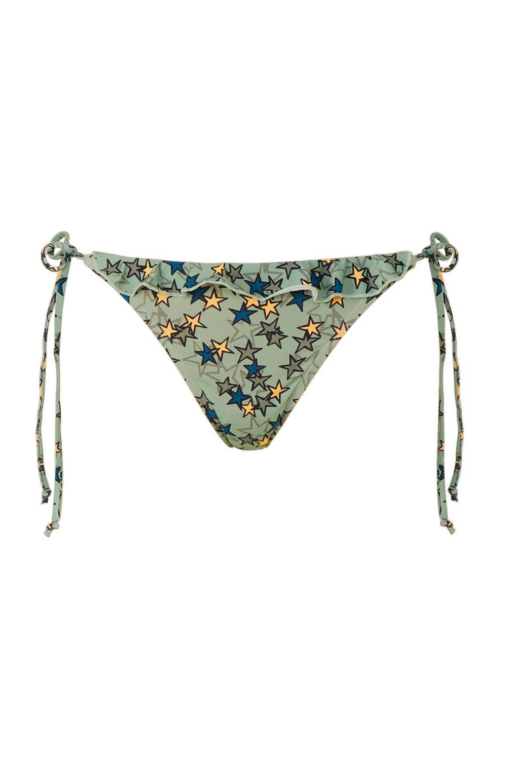 Broekje Sterren Bikini Meltstrik Groen Met 0xFqC5w