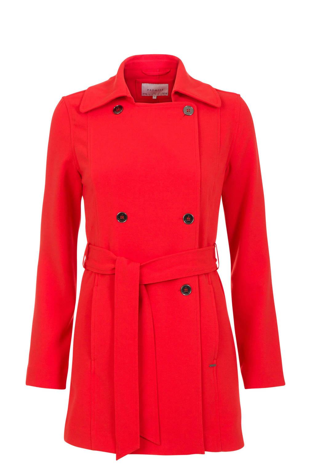 Promiss jas rood, Rood