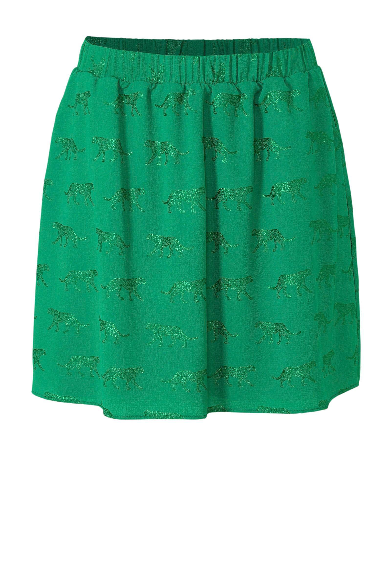 groene rok dames
