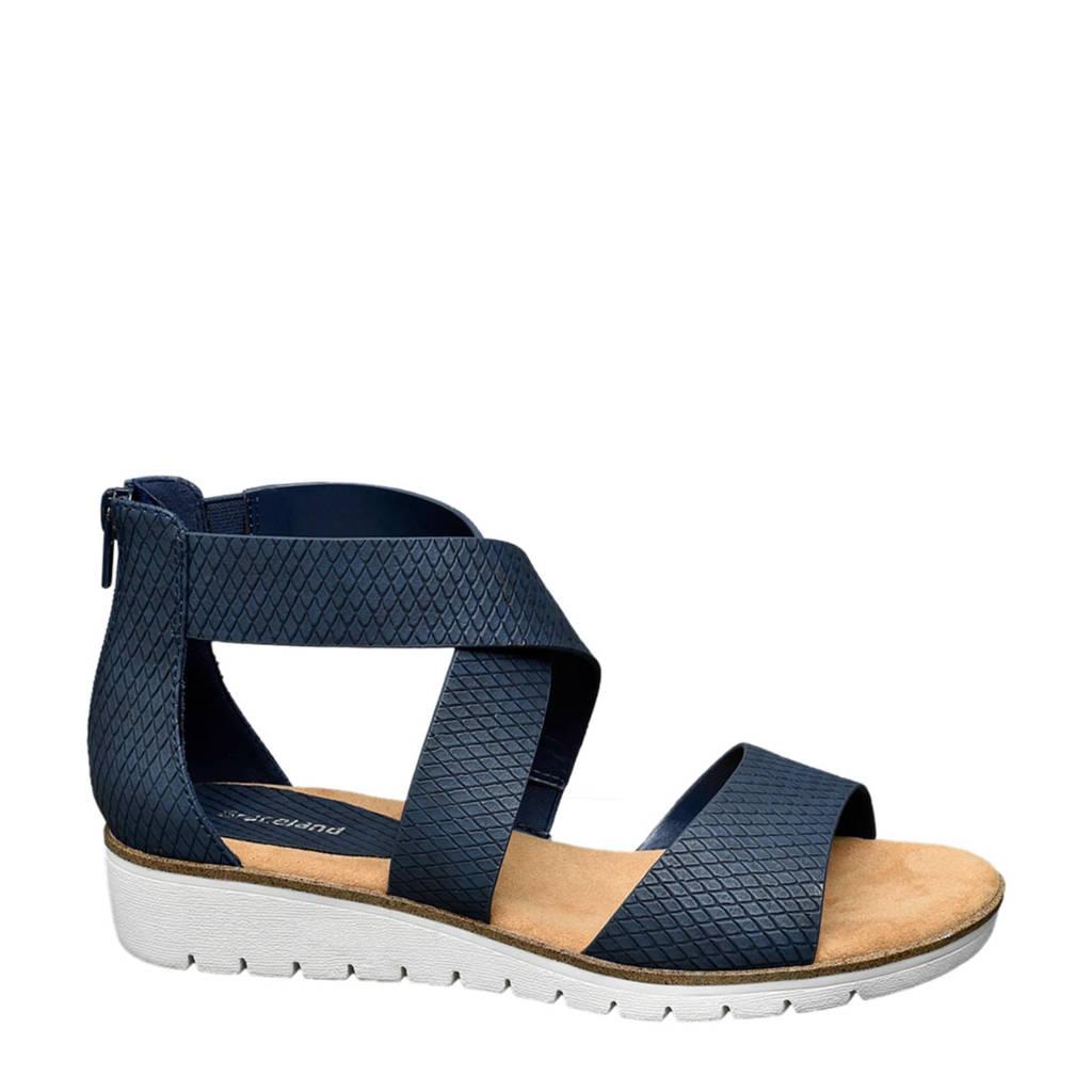 Graceland sandalen blauw, Blauw