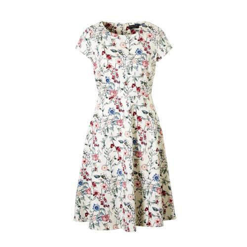 C&A Yessica gebloemde jurk ecru