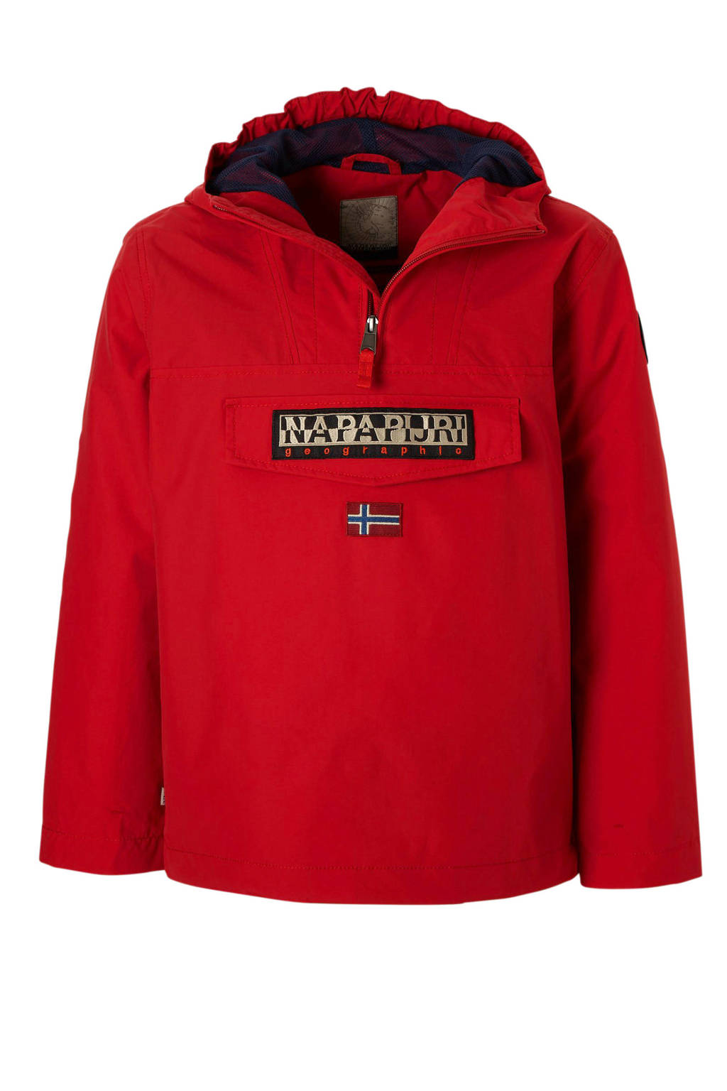 Napapijri zomerjas rood, Rood