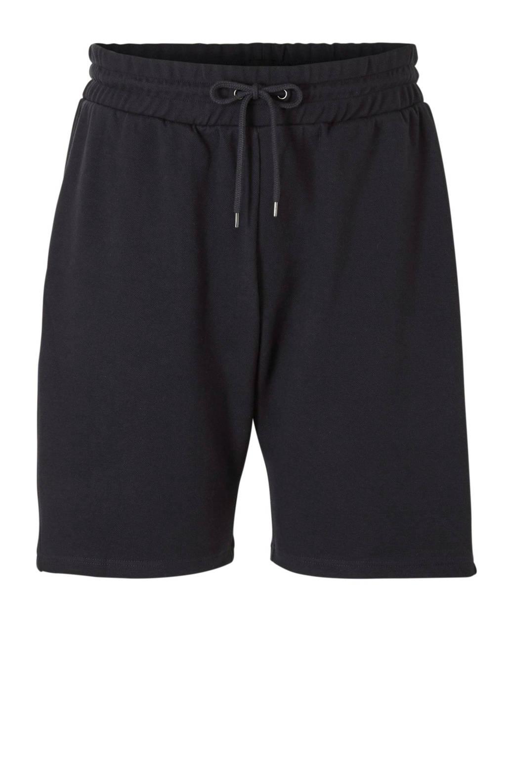 River Island Big & Tall slim fit sweatshort, Navy